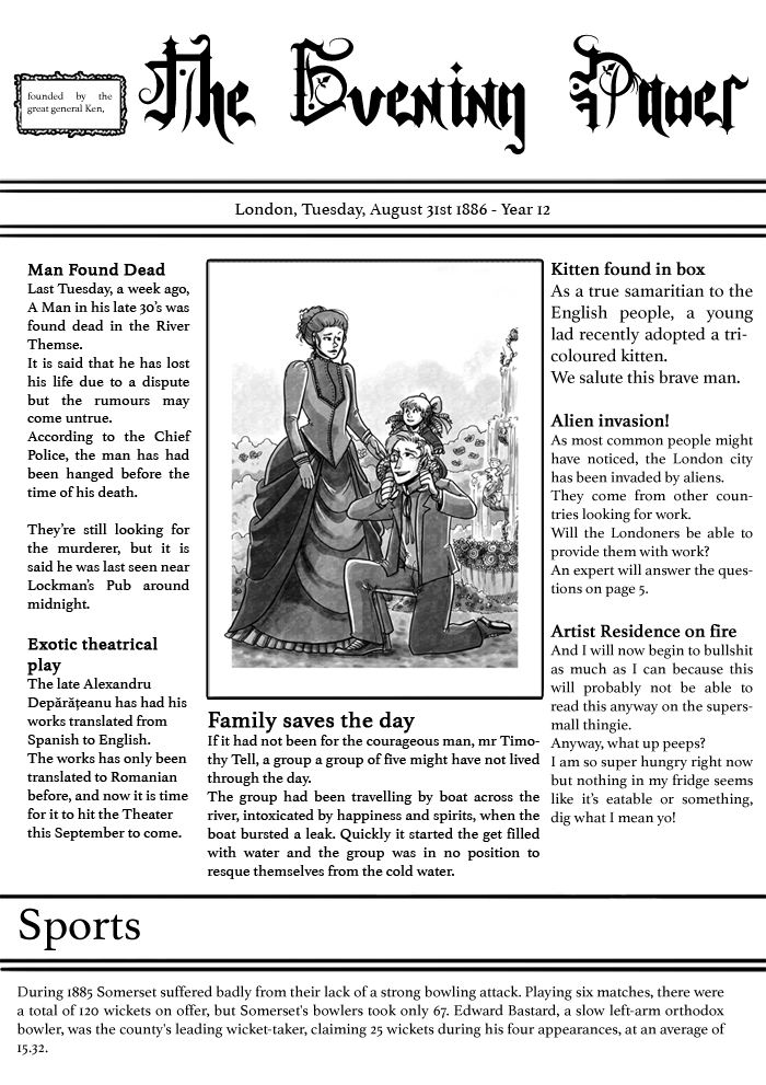 FUNeral – The Evening Paper